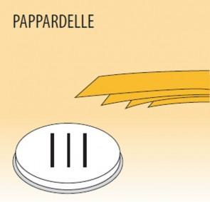 Trafila pappardelle mm 16 in lega ottone bronzo per macchina pasta Fimar MPF1,5N