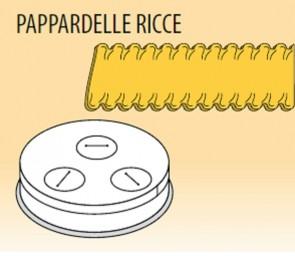 Trafila pappardelle ricce mm 16 lega ottone bronzo macchina pasta Fimar MPF1,5N