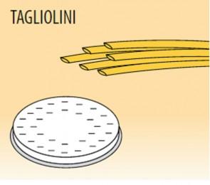 Trafila tagliolini mm 3 in lega ottone / bronzo per macchina pasta Fimar MPF1,5N