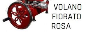 Opzione volano fiorato tipo ROSA per affettatrici a volano pieno mm 250/300 Fac